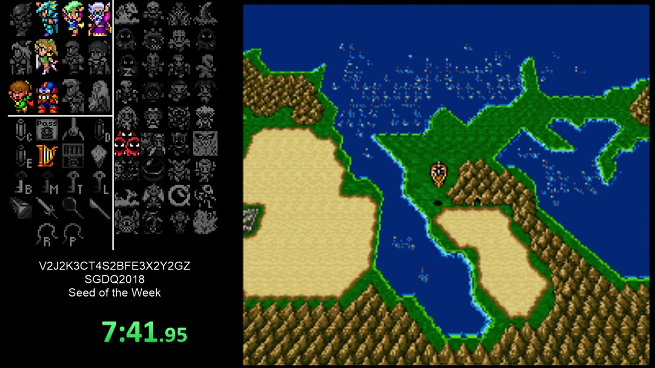 Final Fantasy IV Free Enterprise Randomizer Run #24 (Seed of the ...