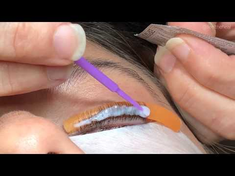 Elleebana Lash Lift & Tint Tutorial Video