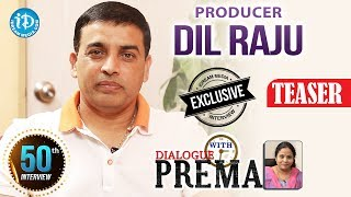 Producer Dil Raju Exclusive Interview Teaser    Dialogue With Prema    CelebrationOfLife #50    #DJ