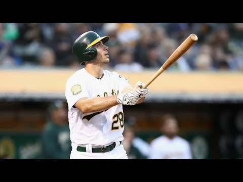 OAKLAND ATHLETICS TOP 10 LONGEST HOME RUNS OF THE STATCAST ERA