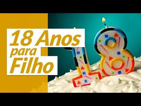 Aniversário de Filho - Parabéns Feliz Aniversário meu Filho Mensagem de Aniversário 18 Anos
