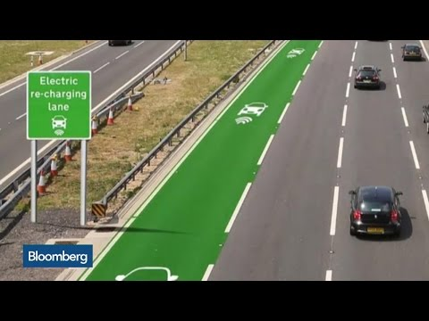 Electric Cars That Charge as They Drive Coming to U.K. Roads