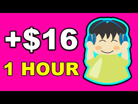 Earn up to $16 per Hour Listening to Music! (Make Money Online)
