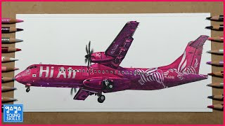 Hi Air ATR72-500 Drawing 하이에어 …