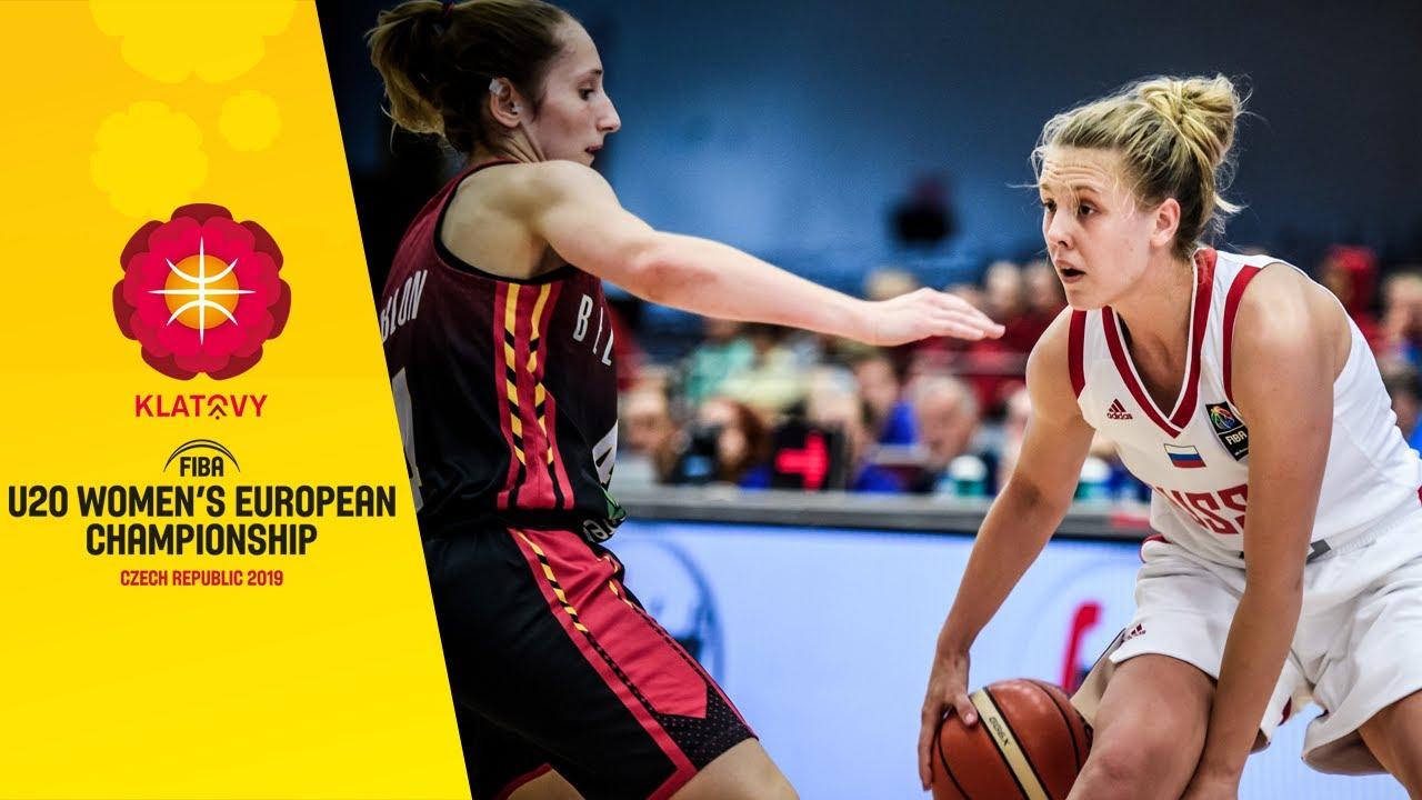 Russia v Belgium - Full Game - FIBA U20 Women's European Championship 2019
