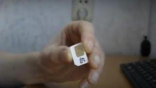 как восстановить SIM карту (симку) медицинским способом