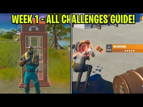 WEEK 1 CHALLENGE GUIDE