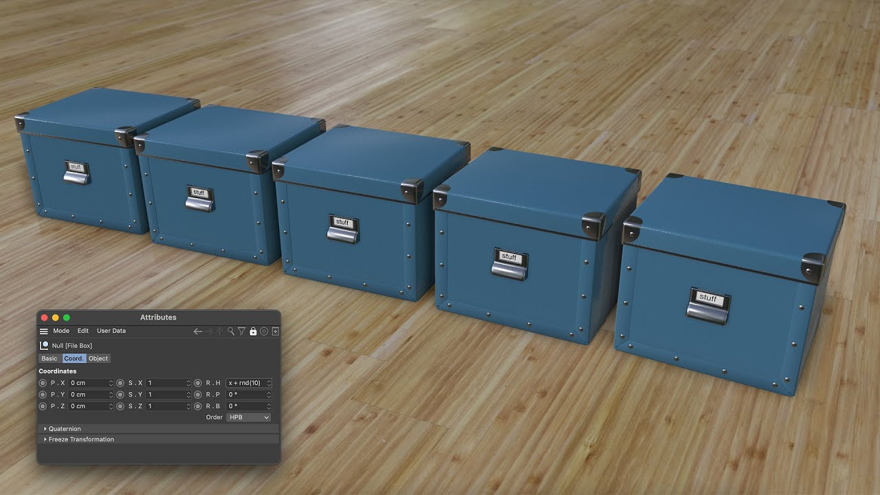 Tip - 327: How to unleash the power of numeric input fields in Cinema 4D