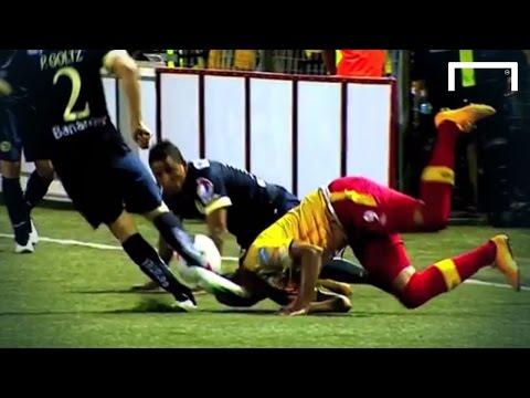 Lagos gets KO'd by brutal kick