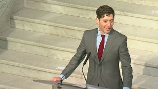 Public Inauguration Held For Minneapolis Mayor Jacob Frey