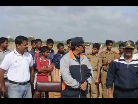 Sainik School Bijapur, South Zone, Shivayogi Kalsad ,DC, Hockey umpires honoured