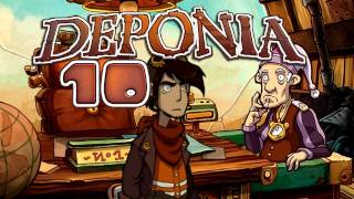 Let's Play Deponia #010 [Deutsch] [HD+] - Der elende Bürgermeister