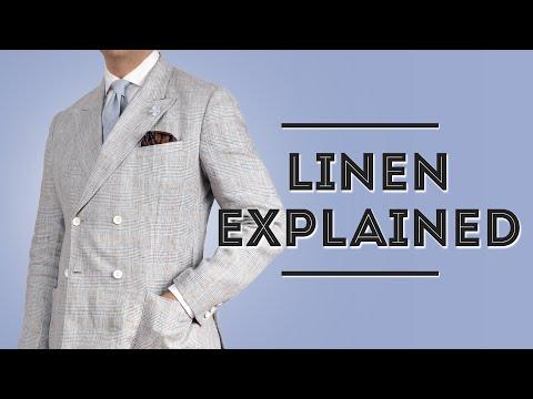 Linen Explained - Men's Summer Fabric Guide