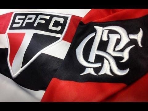 São Paulo 2 x 0 Flamengo - Brasileirão 13/11/2013 - Jogo ...