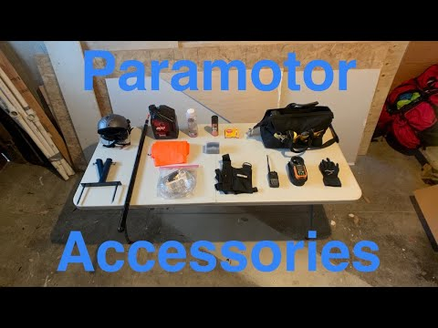 Paramotor Accessories Guide