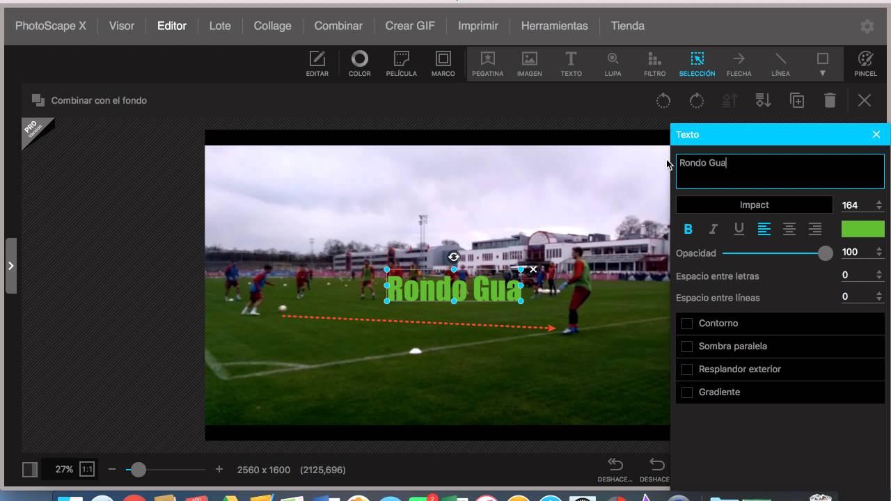 Cómo añadir elementos como texto, flechas, círculos a un video con ...