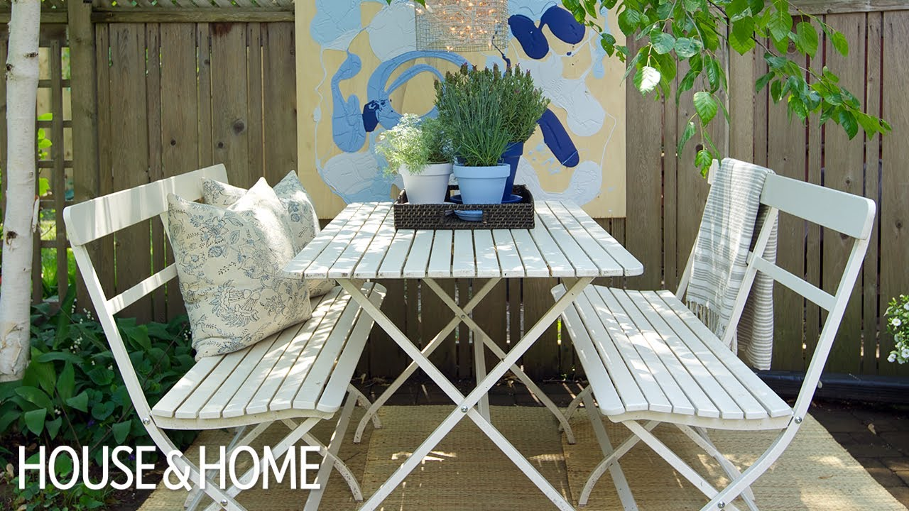 Best Budget-Friendly, Quick & Simple Patio Decorating ... on Basic Patio Ideas id=85149