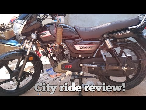 TVS RADEON 110 First ride review!
