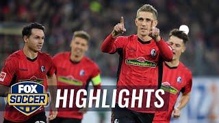 Sc Freiburg Vs. Borussia Monchengladbach   2018-19 Bundesliga Highlights