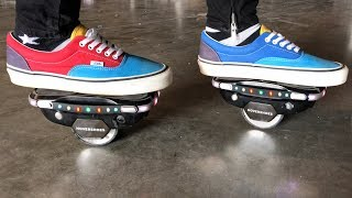 FASTEST NEW HOVERBOARD SHOES  **SPEED TEST**