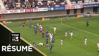 TOP 14 - Résumé Montpellier-Agen: 33-17 - J21 - Saison 2018/2019