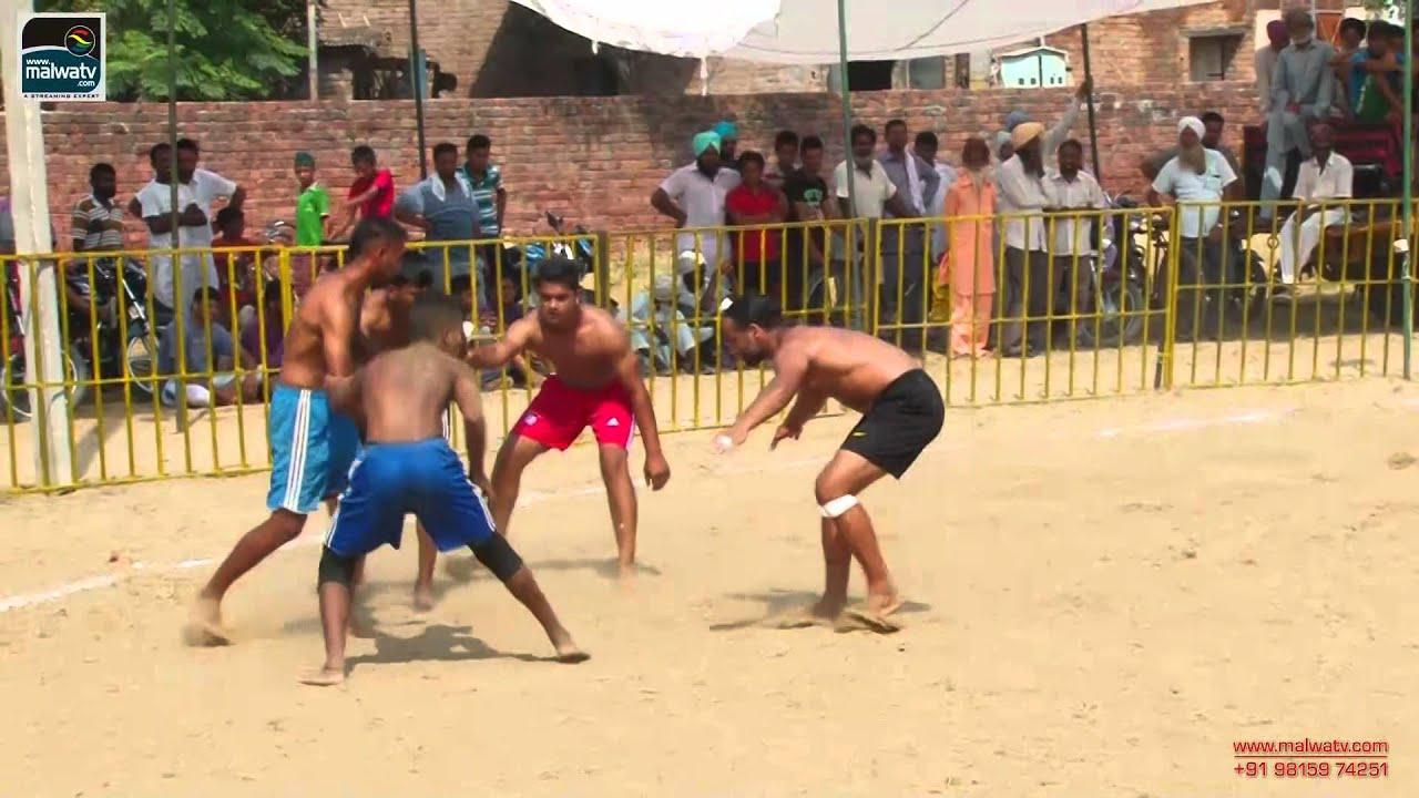 BHUMAL (Jagraon) Kabaddi Open Tournament - 2014 || HD || Part 1st.
