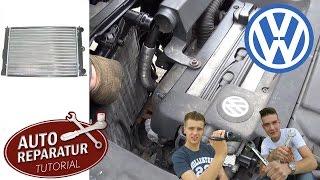 khler erneuern wasserkhler wechseln golf 4 iv tutorial hd radiator removement