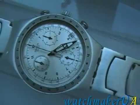наручные часы мужские швейцарские swatch - YouTube