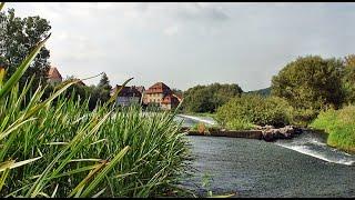 Fulda Kanutour vom Campingplatz Büchenwerra nach Fuldabrück-Dennhausen 2016