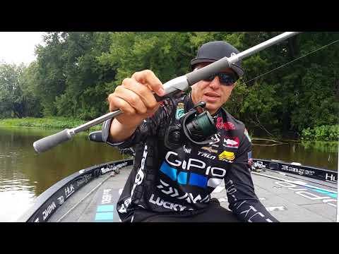 Brent Ehrler's total dropshot rig rundown