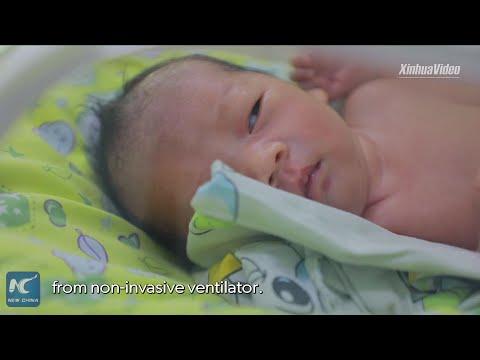 Coronavirus fight: Baby