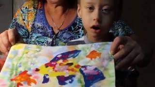 Золотая рыбка. Как нарисовать рыбку  гуашью поэтапно.(Как нарисовать рыбку гуашью поэтапно. Смотрите видео уроки рисования для детей 4-8 лет. https://vk.com/risovan_diya., 2016-08-09T20:39:32.000Z)