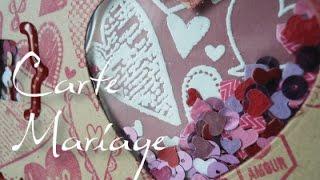 Carte De Mariage : Ma Toute Première Shaker Box
