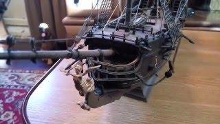 Корабль Черная Жемчужина сборная модель