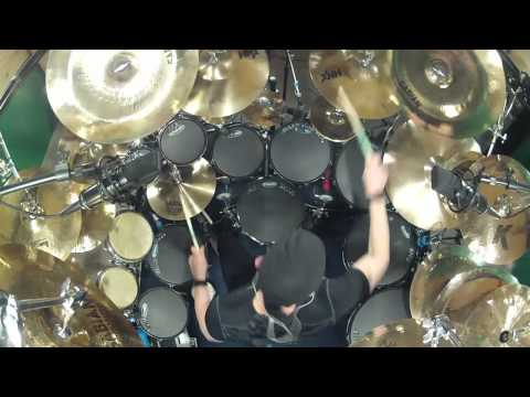 Rush YYZ- Drum Cover. By Kevan Roy