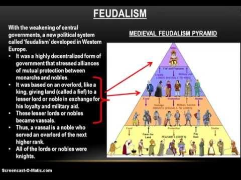 12-2 Medieval Europe: Feudalism (Part 1)