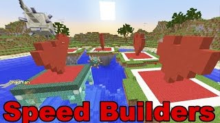 Minecraft / Speed Builders / Mini Game / Radiojh Games