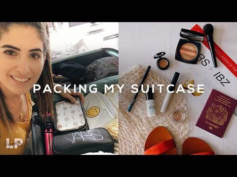 WHAT'S IN MY SUITCASE: Planning Outfits, Makeup & Skincare | Lily