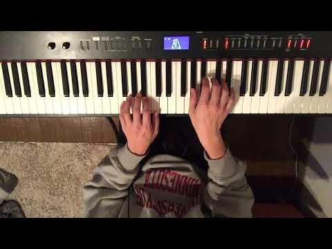 荒れ果てた世界 / クロノトリガーBGM ピアノで弾いてみた