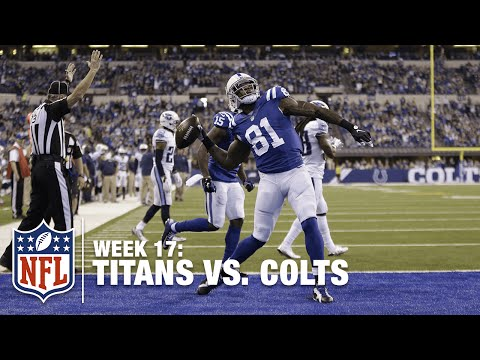 Still One of the Best! Andre Johnson Reaches Out for the Red Zone TD! | Titans vs. Colts | NFL