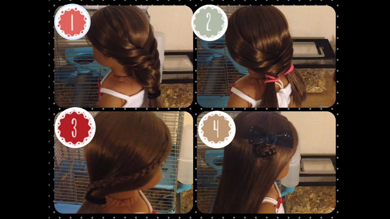 Cute & Simple Hairstyles For American Girl Dolls With