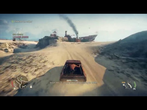 MadMax PC Gaming 1080 1st time playing