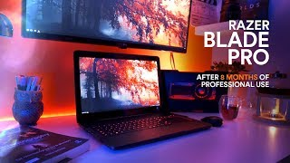 Razer Blade Pro 4K 1TB 2017. 8 MONTHS LATER REVIEW