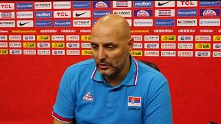 Aleksandar Đorđević Nakon Pobede nad Portorikom na Mundobasketu   SPORT KLUB KOŠARKA