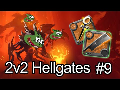 Pepega 2v2 HG's With LuckBox S1E9 - WE BACK WITH CARVING [Albion Online]