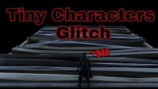 How To Become Tiny and Huge Glitch | Fortnite Battle Royale Glitches
