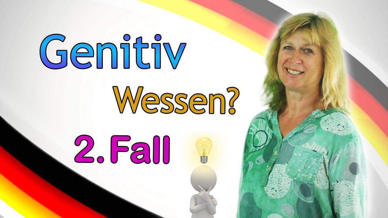 Deutsch lernen 6 genitiv fragewort wessen pr positionen gebrauch youtube for Genitiv deutsch lernen