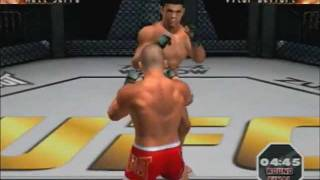 [PS2] UFC Sudden Impact Gameplay