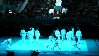 WTF시범단 Taekwondo Demonstration London Olympic final game.(WorldTaekwondoFederationDemo)1