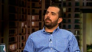 Jaime Bayly entrevista  a Ian Padrón.